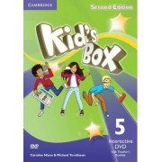 Kid's Box Level 5 Interactive DVD (NTSC) with Teacher's Booklet by Caroline Nixon