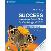 Success International English Skills for Cambridge IGCSE Teacher's Book with Audio CD by Marian Barry