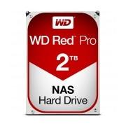 Disco Duro Interno Western Digital WD Red Pro 3.5'', 2TB, SATA III, 6 Gbit/s, 7200RPM, 64MB Cache - para NAS de 8 a 16 Bahías