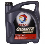 Total Quartz INEO First 0W-30 5 Litres Jerrycans