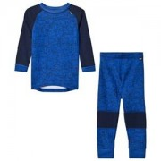 Helly Hansen Blue Kids HH Lifa Merino Set Baselayer 6 years