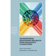 Socioemotional Development and Health from Adolescence to Adulthood by Lea Pulkkinen