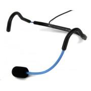 Trantec MIC-X66-BL HM-66 Aerobic Headworn Microphone Blue