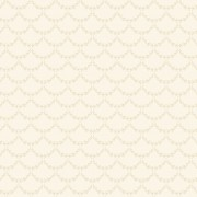 Tapet Shabby Chic Matilda Ghirlande - Vanilla
