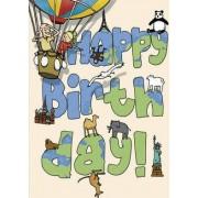 Happy Birthday - Around the World by Wesley Robins