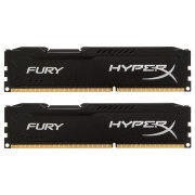 Kingston DDR3 8GB 1600 CL10 HyperX Fury Black Kit (HX316C10FBK2/8)