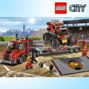 LEGO 60027 LEGO Monster Truck transporters / Lego City / second half of 2013 new products / Genuine Lego Korea New Products Fast Shipping