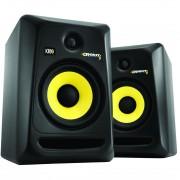 KRK Rokit 6 G3 RP6 Monitor de Audio para Studio, Preto, 220v, Par
