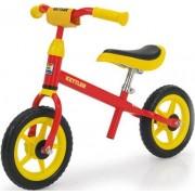 "Bicicleta Kettler Speedy, fara pedale, Roti 10"" (Galben/Rosu)"