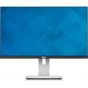 Monitor 24'' LED DELL U2414H, 8ms, 250cd/m2, 2000000:1, IPS, HDMI, DP, mini DP, USB 3.0 hub, crni