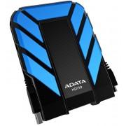 Hard disk extern ADATA DashDrive Durable HD710 1TB 2.5 inch USB 3.0 blue