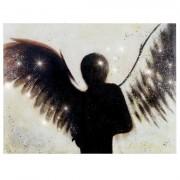 Cuadro ANGEL 90x140 cm, pintado a mano al óleo