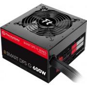 Thermaltake SMART DPS G 600W 600W ATX Zwart, Rood