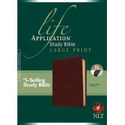 Life Application Study Bible NLT, Large Print by Tyndale