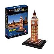 CubicFun Big Ben London UK 3D LED Puzzle