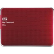 HDD extern Western Digital My Passport Ultra 2TB USB 3.0 2.5inch rosu model