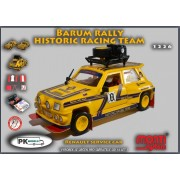Monti MS 1226 Renault R5 service car Barum rally historic team 1:28