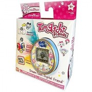Tamagotchi Friends Dream Town Digital Friend Blue Flowers