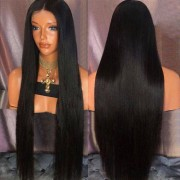 rosegal Ultra Long Center Part Straight Synthetic Wig