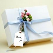 Phenovo Kraft Paper Blank Card DIY Gift Tags Rectangle Label 100pcs White
