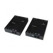 StarTech.com Kit Extensor de Video y Audio HDMI IP por Red Gigabit Ethernet, Cable UTP Cat6 RJ-45