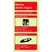 Placa de sinalização Manta Ignífuga