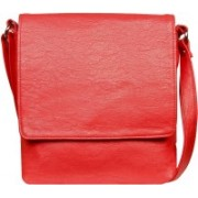 Louise Belgium Women Red Leatherette Sling Bag