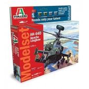 Italeri 71080 - Elicottero Militare Ah-64 Apache Longbow in Scala 1:72