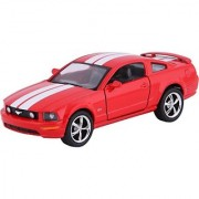 Kinsmart Die-Cast Metal 2006 Ford Mustang Gt Sports (Red)