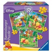 Puzzle Winnie The Pooh, 3 Buc In Cutie, 25/36/49 Piese