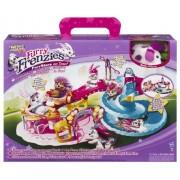 Hasbro Furry Frenzies Gran parque de atracciones - Parque de atracciones de juguete para mascotas