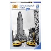 Ravensburger puzzle cladirea flatiron, new york, 500 piese