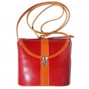 Florence Leather Market Borsa a tracolla in vera pelle rigida (202)