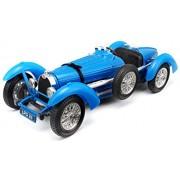1959 Bugatti Type 59 Blue Diecast Model Car 1/18