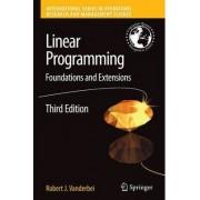 Linear Programming by Robert J. Vanderbei