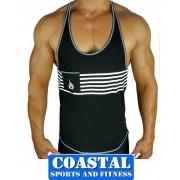 Ryderwear HYPE TANK BLACK Gym Training Street wear ryder Cross FIT