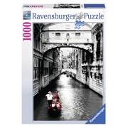 Ravensburger 19472 - Puzzle 1000 Pezzi, Venezia in Bianco e Nero, Cartone