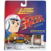"Johnny Lightning Speed Racer 2000 Target Exclusive ""Racer X Shooting Star Indy Race Car"" with Bonus Film Strip Token by Johnny Lightning"
