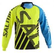 Salming Travis SR XXL neon gelb / blau
