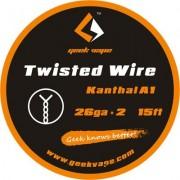 GeekVape Twisted DIY Kanthal Double KA1 Wire (26GA * 2)