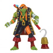 Teenage Mutant Ninja Turtles Movie 2 Out Of The Shadows Pirate Michelangelo Basic Figure