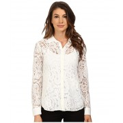 KUT from the Kloth Julissa Button Down Top White