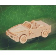 Puzzled B-740I Sm 3D Natural Wood Puzzle by Puzzled Inc by Puzzled