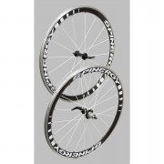 Spinergy Stealth PBO Wheelset with Free Continental GP Tyres and Tubes - Black Spoke - Shimano