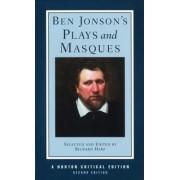 Ben Jonson's Plays and Masques by Ben Jonson