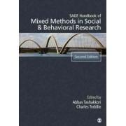SAGE Handbook of Mixed Methods in Social & Behavioral Research by Abbas M. Tashakkori