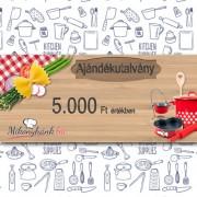 5000 Forintos ajándékutalvány