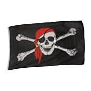 BestSaller 90 x 150 cm Pirate Flag (Multi-Colour)