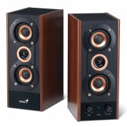 """BOXE 2.0 GENIUS """"SP-HF800A"""", RMS: 10Wx2, black&cherry wood, line in """"31730997100"""" , BOXSP-HF800A (include timbru verde 1 leu)"""