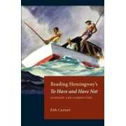 Reading Hemingway's to Have and Have Not by Kirk Curnutt